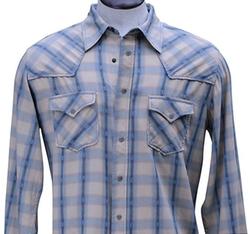 Cotton Rope Stitch Shirt by Ryan Michael in Nashville