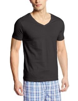 Men's V-Neck T-Shirt by Bottoms Out in No Strings Attached