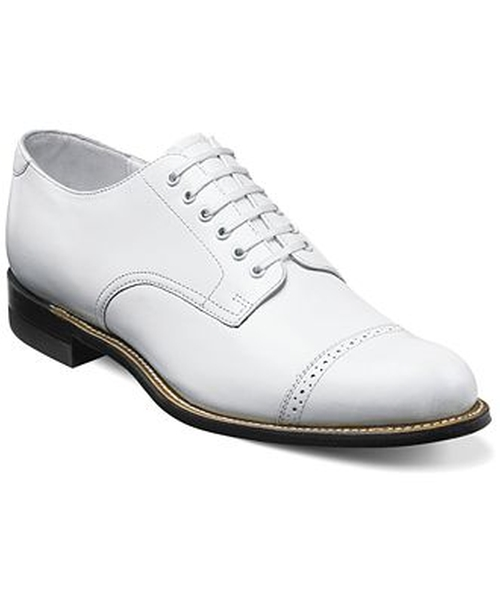 Madison Cap Toe Oxford Shoes by Stacy Adams in Fight Club