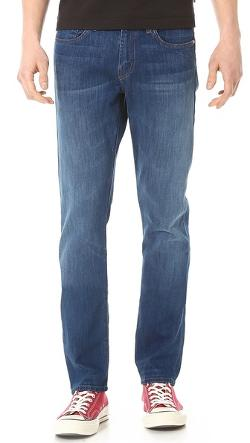 Kane 10.25oz Slim Straight Jeans by J Brand in Interstellar