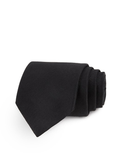 Seasonal Solid Skinny Tie by John Varvatos Star USA in The Vampire Diaries