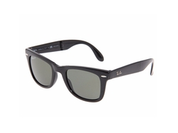 Folding Wayfarer Polarized Sunglasses by Ray-Ban in Chelsea