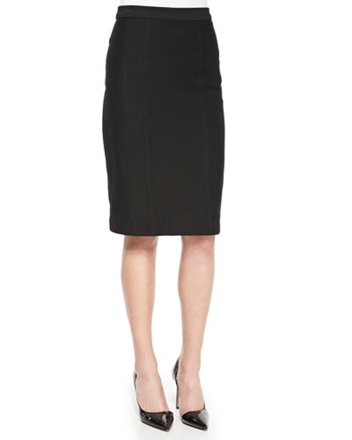 Heart Slayer Slim Straight Skirt by Nanette Lepore in The Gift