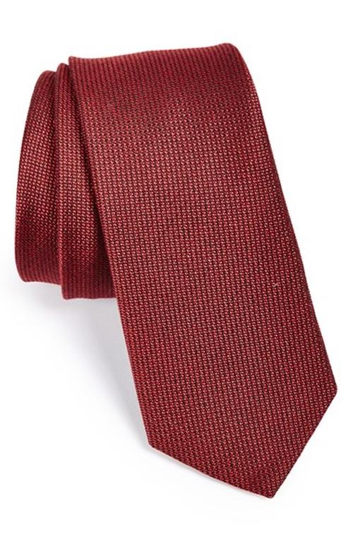 Silk & Cotton Tie by W.R.K in Black Mass