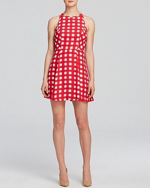 Charlie's Check Swing Dress by Aqua in The Other Woman
