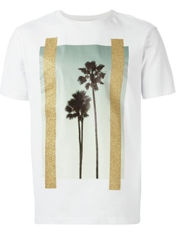 Palm Tree Print T-Shirt by Palm Angels in We Are Your Friends