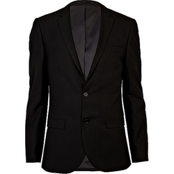 Slim Suit Jacket by River Island in Elementary