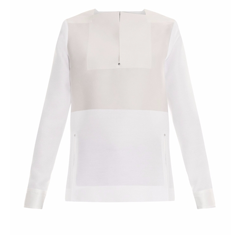 Satin And Jacquard Blouse by Balenciaga in Assassin's Creed