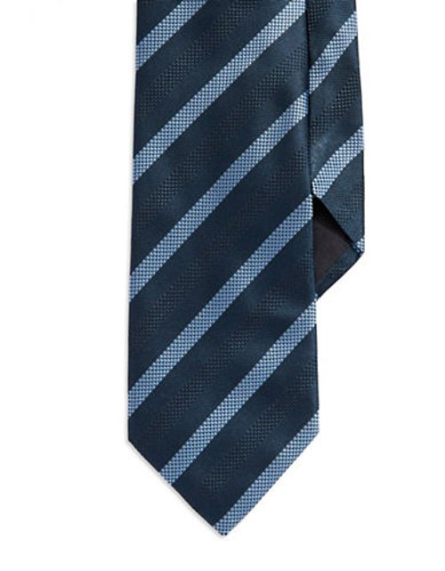 Double Striped Silk Tie by Hugo Boss in The Best of Me