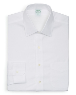 Solid Non–iron Dress Shirt by Brooks Brothers in 99 Homes