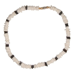 Puka Shell Necklace by Hawaiian Heirloom Jewelry in Wet Hot American Summer
