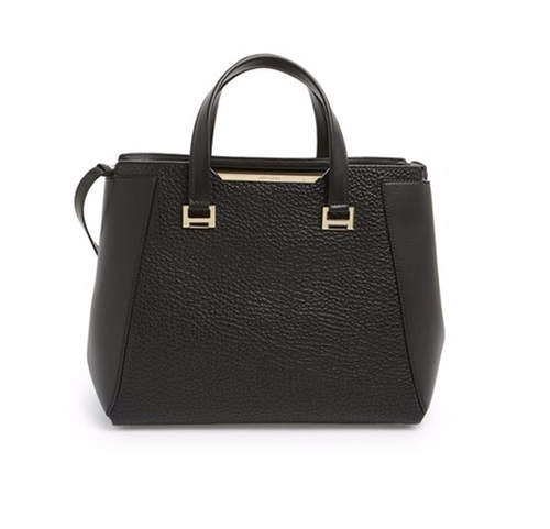Large Alfie Leather Satchel Bag by Jimmy Choo in Bad Moms