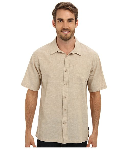 Inlet Woven Shirt by O'Neill in Blackhat