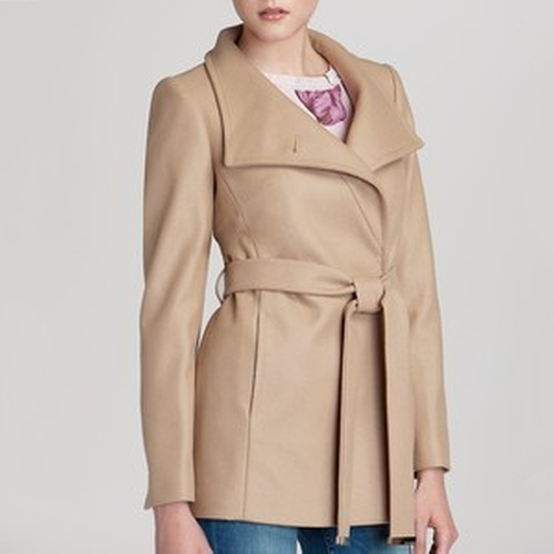 Chessy Wrap Coat by Ted Baker in How To Get Away With Murder - Season 2 Episode 5