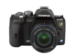 Evolt E510 Digital SLR Camera 14-42mm f/3.5-5.6 Zuiko Lens by Olympus in Let's Be Cops