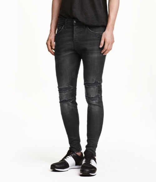 Skinny Low Jeans by H&M in Regression
