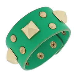 Leather Rose Spikes Bracelet by Globalmate in Teenage Mutant Ninja Turtles: Out of the Shadows