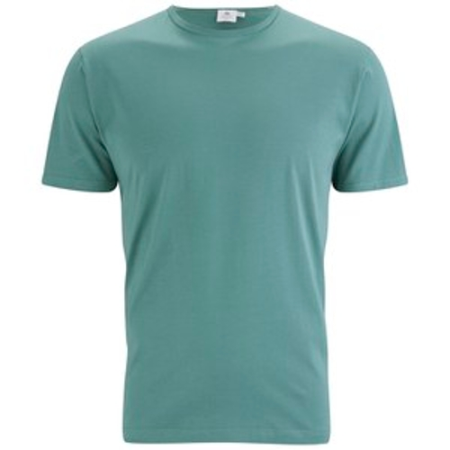 Short Sleeve Crew Neck T-Shirt by Sunspel in The D Train