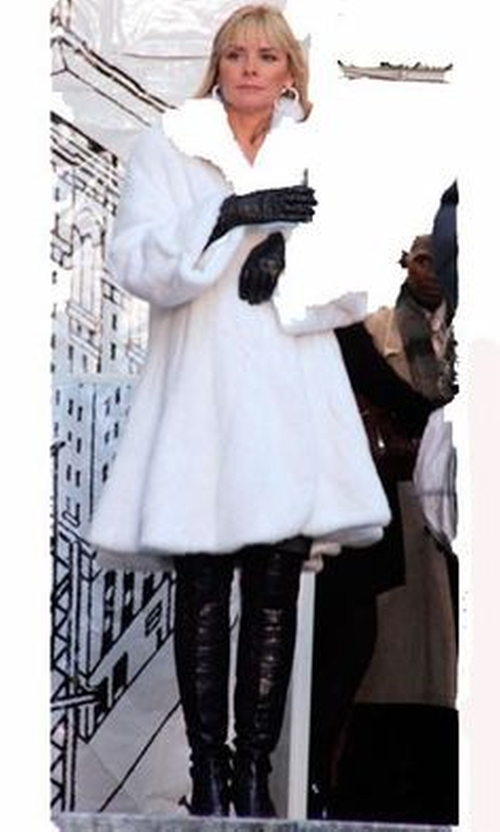White Fur Coat by Furs By PK in Sex and the City