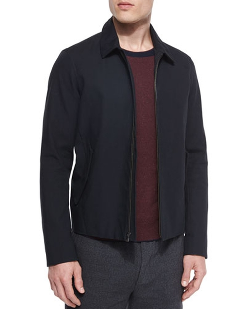 Bonded Zip-Up Jacket by Vince in Inherent Vice