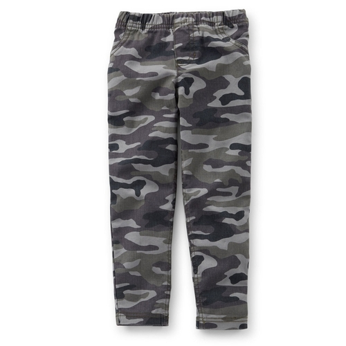 Girls Camo Stretch Twill Jeggings Pants by Carter's in Barely Lethal