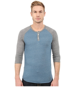 Raglan Henley Shirt by Alternative in Modern Family