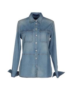 Denim Shirt by Blue Les Copains in The Walk