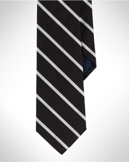 Striped Silk Repp Tie by Ralph Lauren in Trainwreck