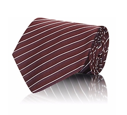 Striped Necktie by Giorgio Armani in House of Cards