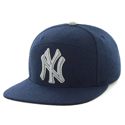New York Yankees Five Panel Wool Ferro Adjustable Cap by '47 Brand by '47 Brand in Kingsman: The Secret Service