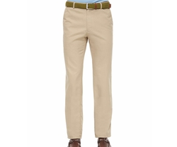 Raleigh Washed Twill Pants by Peter Millar in Rosewood