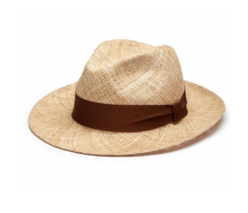 Bao Straw Hat by Barbisio in Gold