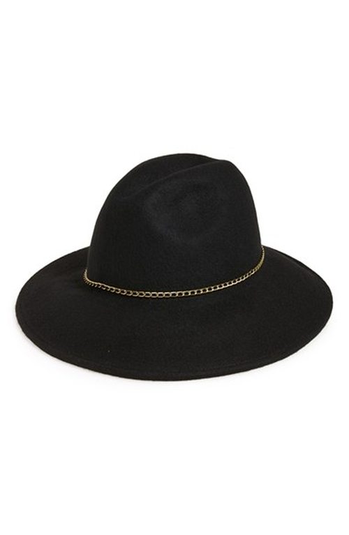 Chain Trim Panama Hat by Nordstrom in Rosewood - Season 1 Episode 10