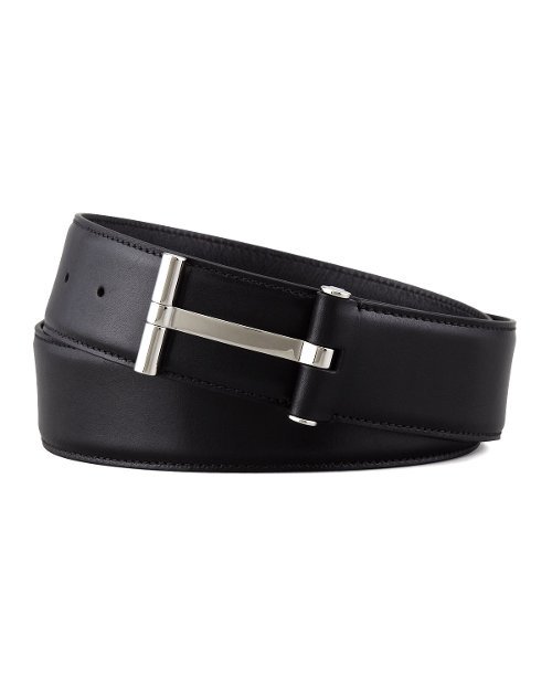Leather T-Buckle Belt by Tom Ford in John Wick