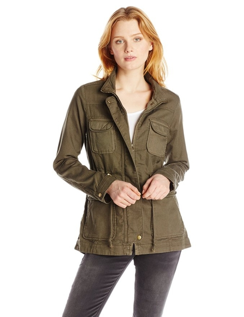 Core Military Jacket by Lucky Brand in The Vampire Diaries