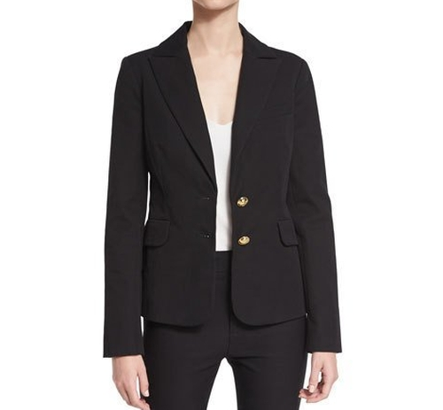 Stretch Two-Button Blazer by Derek Lam 10 Crosby in Fifty Shades Darker