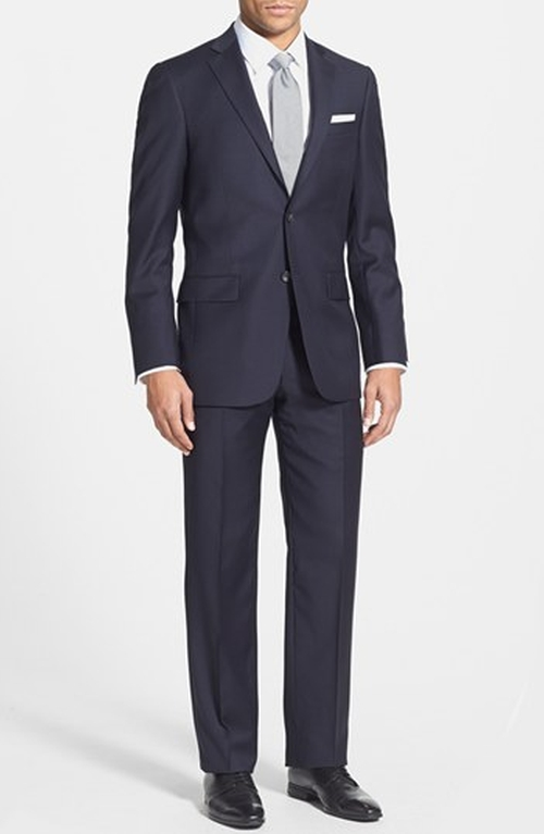 'New York' Classic Fit Wool Suit by Hart Schaffner Marx in The Good Wife - Season 7 Episode 4
