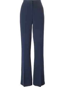 High-Waist Flared Trousers by MSGM in Empire