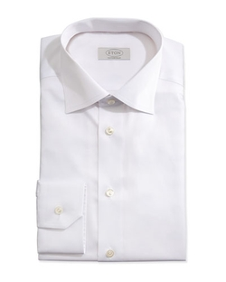 Solid Fine Twill Dress Shirt by Eton	 in The Blacklist