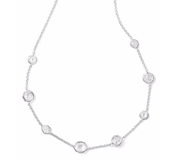 Sterling Silver Wonderland Mini Gelato Short Station Necklace by Ippolita in Suits