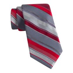 Men's Multi Bar Stripe Pattern Tie with Pocket Square by Steve Harvey in X-Men: Days of Future Past