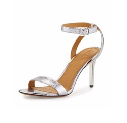 Elana Metallic Sandals by Tory Burch in Mistresses