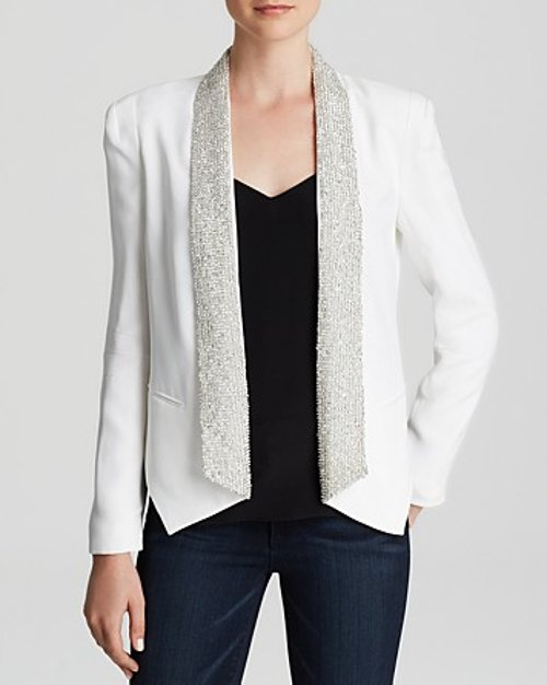 Embellished Becky Silk Blazer by Rebecca Minkoff in Pitch Perfect 2