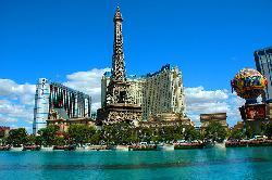 Las Vegas, Nevada by Paris Las Vegas in Godzilla