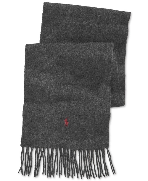 Cashmere Blend Scarf by Polo Ralph Lauren in The Vampire Diaries - Season 7 Episode 9