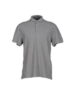 Side Slit Hemline Polo Shirt by Verri in Ballers