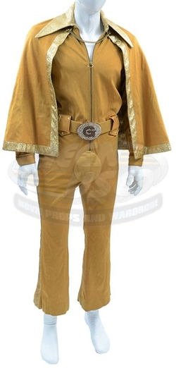 Custom Made One Pice Jumpsuit with Cape by Bill Hargate Costumes in Austin Powers in Goldmember