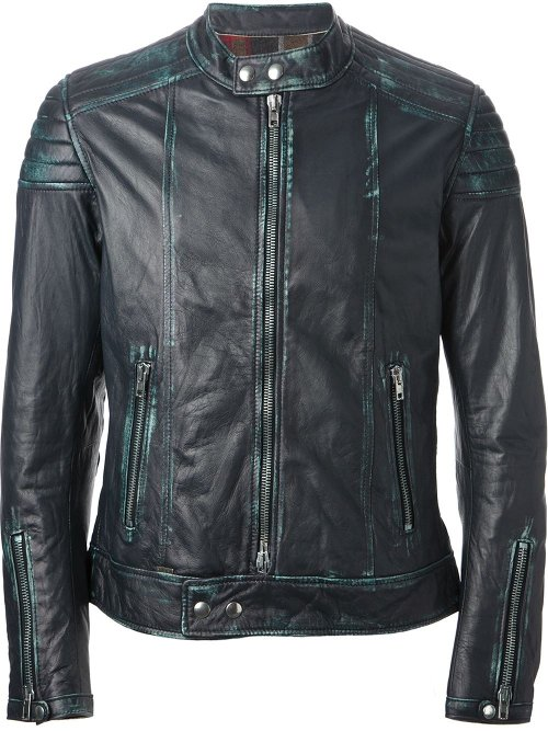 Distressed Biker Jacket by Sword in Fast & Furious 6