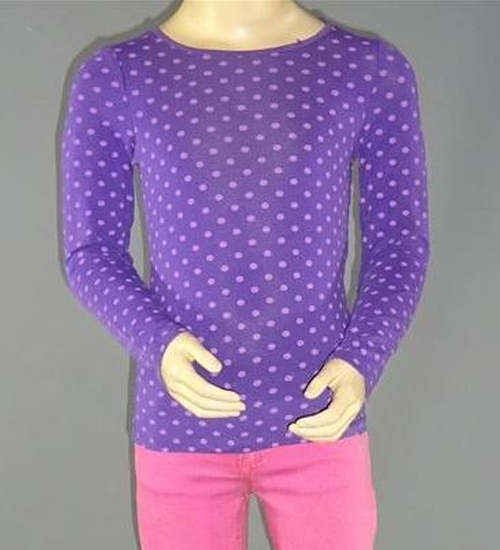Polka Dot Sweatshirt by H & M in Poltergeist