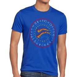 Kryptonian Translator T-Shirt by Style3 in The Big Bang Theory